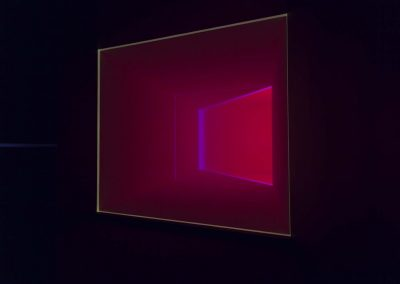 James Turrell, Wedgework V, 1974. Installation view Light Show, Museum of Contemporary Art Australia, 2015. Image courtesy and © James Turrell.